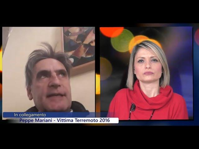 Peppe Mariani, terremotato delle Marche, RADIO CUSANO TV (Ch. 264 del digitale terrestre)