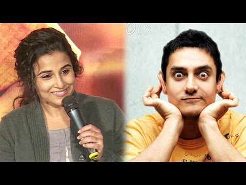 Vidya Balan Gets Called Female Aamir Khan By Reporter & Her Reply Will Blow Your Mind