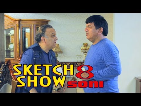 Sketch SHOW 8-soni (Mirzabek Xolmedov, Zokir Ochildiyev, Abror Baxtyarovich)