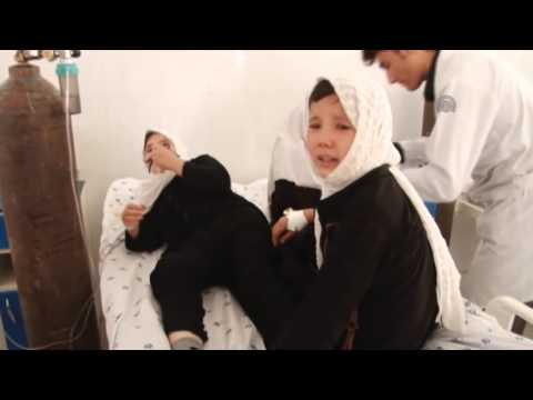 Gas poisoning at girls' school in Afghanistan