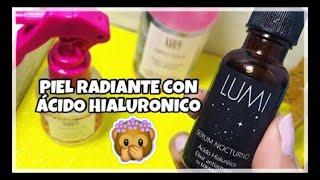 PIEL RADIANTE CON ÁCIDO HIALURONICO LOVE ME LAB || JackyePeralta