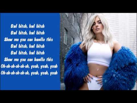Bebe Rexha - Bad Bitch Karaoke / Instrumental with lyrics