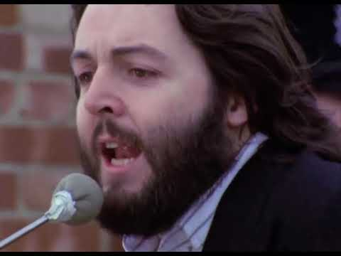 The Beatles - Get Back (Rooftop and other clips)