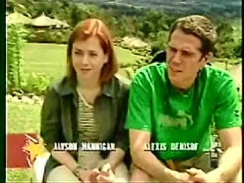 Alyson Hannigan and Alexis Denisof appear on Celebrity Adventures on E!