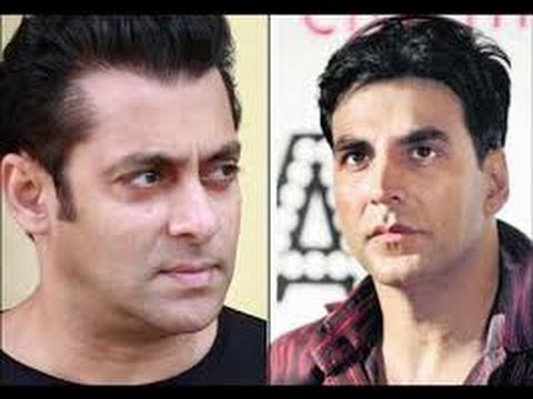Salman khan and akshay  look angry in awards show