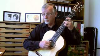 "J.S. Bach: ""Sheep may safely graze"" (BWV 208) for classical guitar"