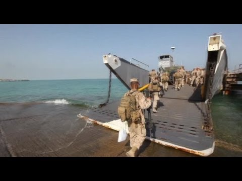 Retrograde - U.S. Marines Leaving Kuwait Naval Base (2012)