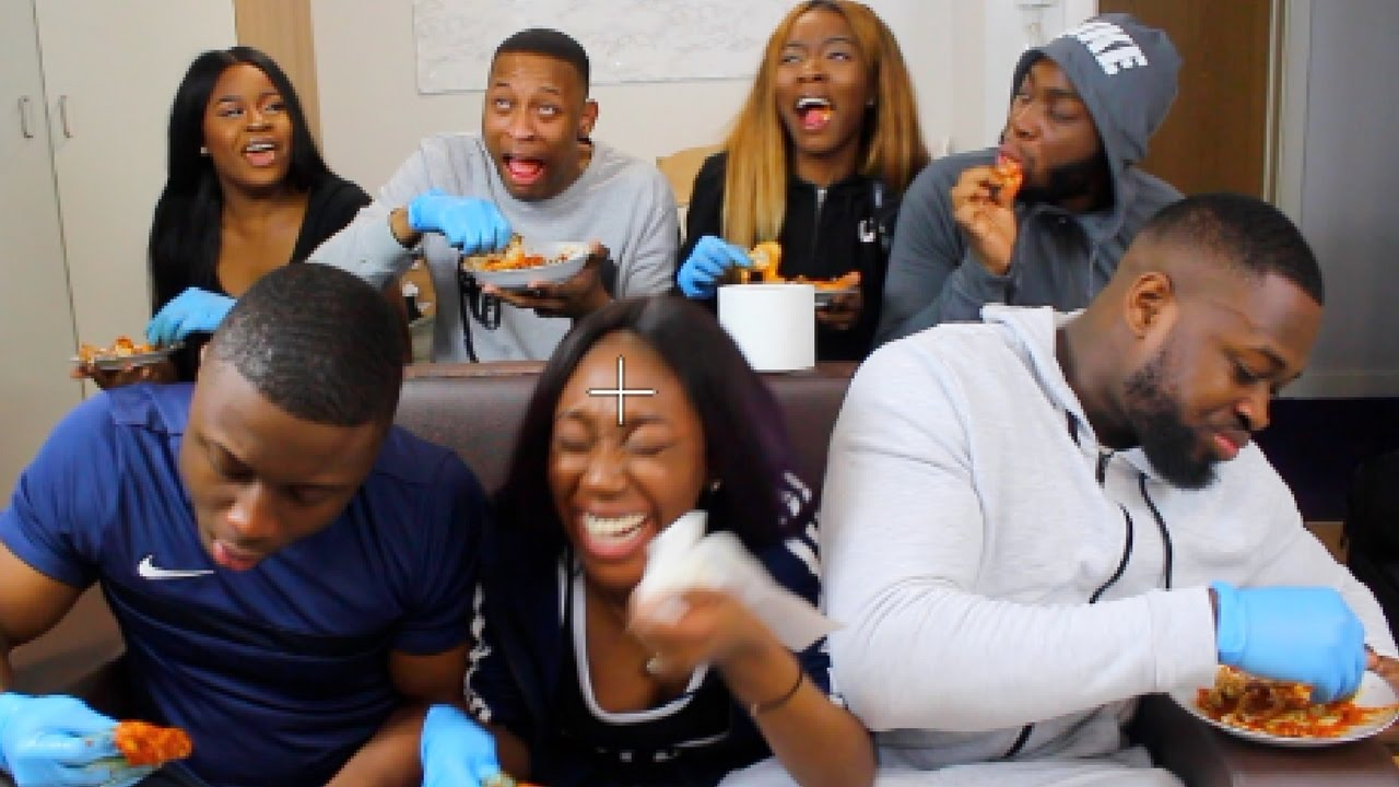 SPICY WINGS CHALLENGE  *UNI EDITION*