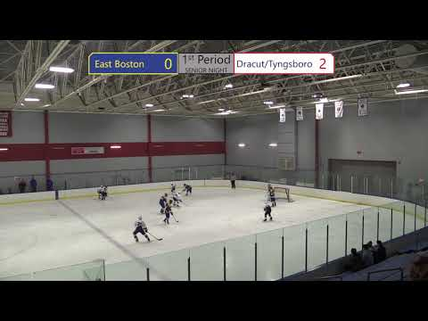 (Temp Edit) Dracut/Tyngsboro Hockey vs  East Boston 2-10-2018
