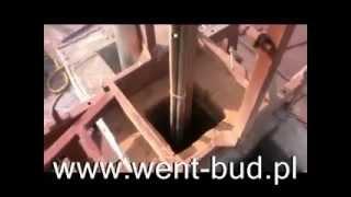 Frezowanie komina powiększanie średnicy