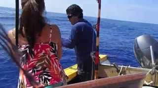 Honeymoon is over when the Fisherman loses it on an Ahi fishing adventure.
