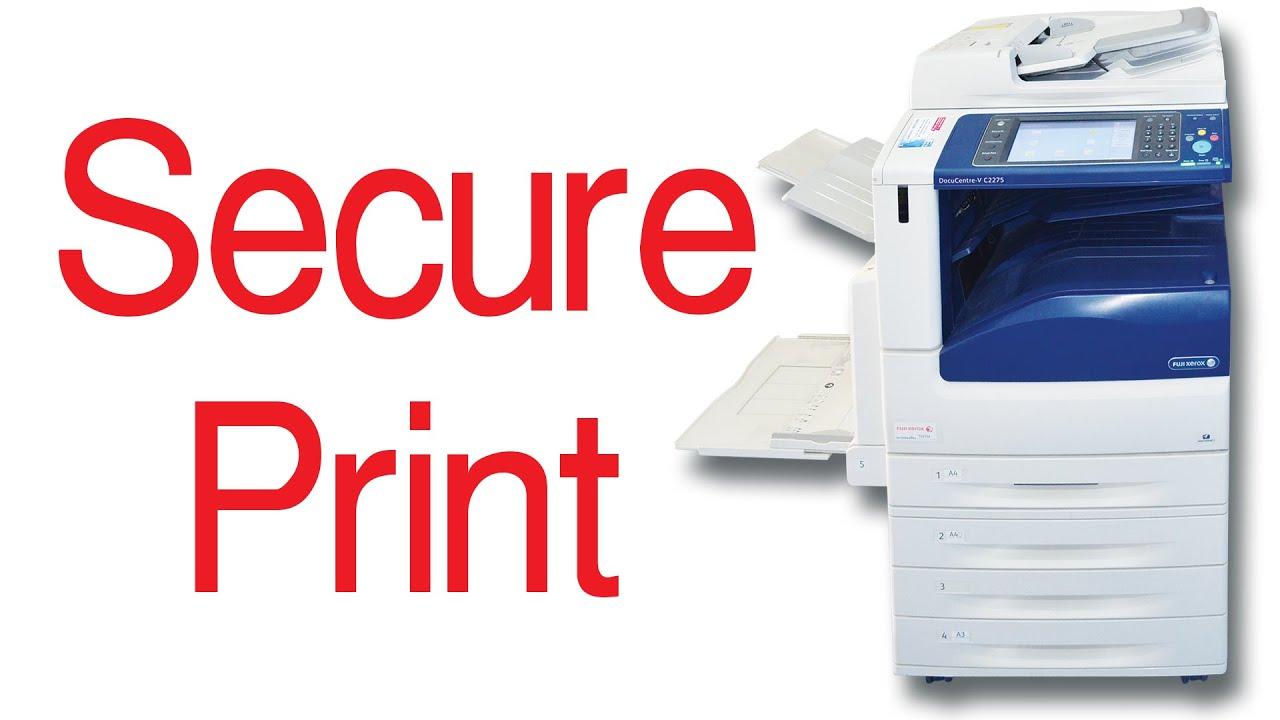 secure print - fuji xerox docucentre-v c2275  u0e1a u0e31 u0e19 u0e17 u0e36 u0e01 u0e01 u0e32 u0e23 u0e1e u0e34 u0e21 u0e1e u0e4c