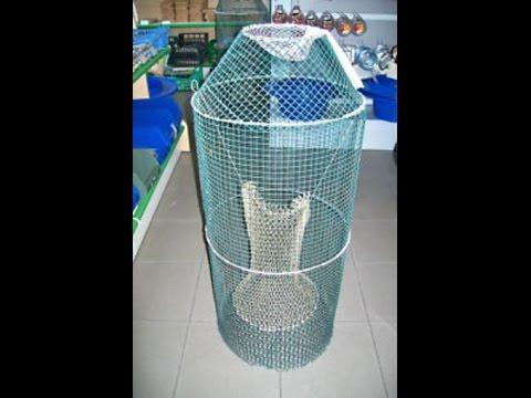 Cash tutorial come costruire una nassa per pesci for Costruire affumicatore fai da te
