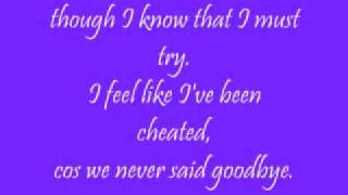 Will you wait for me- Nina with lyrics on screen