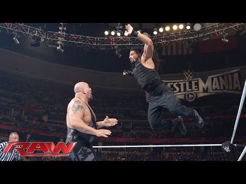 Roman Reigns Vs. Big Show: Raw, February 2, 2015