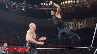 Roman Reigns vs. Big Show: Raw, February 2, 2015