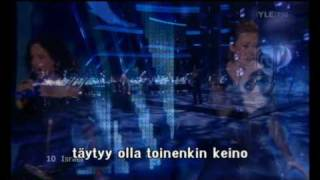 [ESC] 2009 Semifinal 1 Israel - There Must Be Another Way