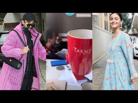 Alia Bhatt begins prep for Karan Johar's Takht with Ranveer Singh   SpotboyE Mp3