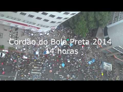 Bola Preta 2014   Carnaval Brasil Rio de janeiro   da minha janela