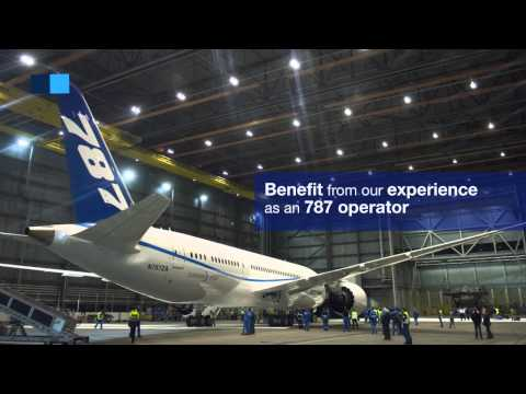 Boeing 787 maintenance solutions - MRO - Air France Industries KLM Engineering & Maintenance