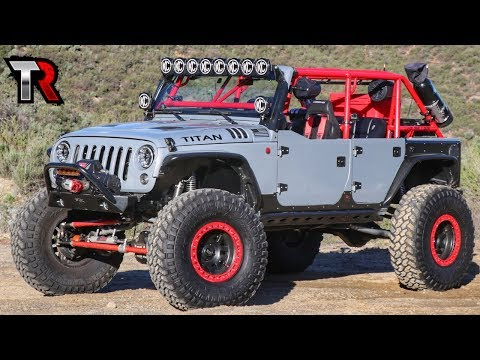 The ULTIMATE Daily Driven Rock Crawler - Jeep Wrangler Build