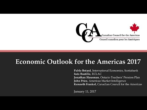 Economic Outlook for the Americas 2017