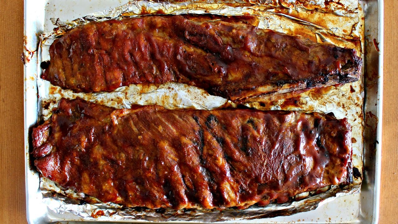 How to Cook Great Ribs in the Oven - YouTube