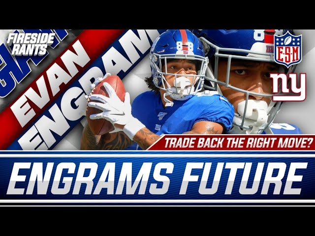 Could the New York Giants Trade Evan Engram   Is Trading Back the Right Move in the 2021 NFL Draft?