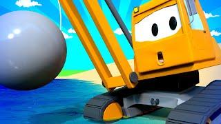 Авто Патруль - Летний спецвыпуск - Тайна мусора на пляже - детский мультфильм