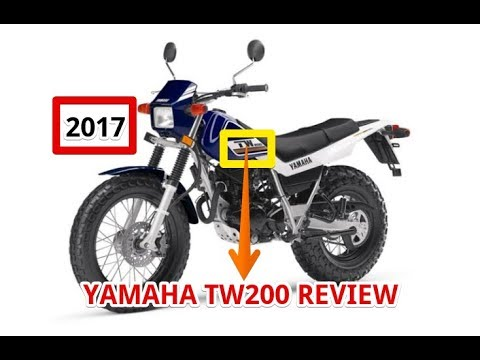 2017 Yamaha TW200 Review - YouTube