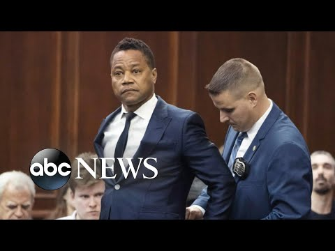 Surveillance video shows Cuba Gooding Jr's alleged groping incident