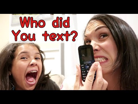 Can I have My Phone Back?! | Who did you TEXT?
