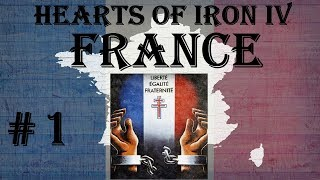 Hearts of Iron IV - Waking the Tiger: France #1
