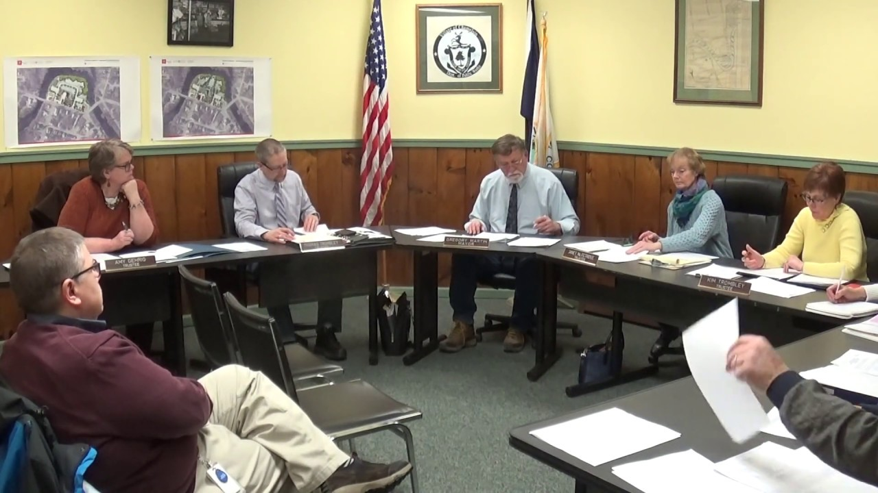 Champlain Village Board Meeting  1-14-19