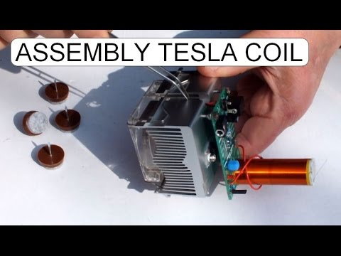 ASSEMBLE 15W MUSICAL TESLA COIL KIT D I Y
