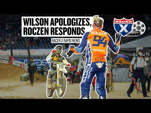 Dean Wilson Apologizes for Blocking Ken Roczen | Racer X Rapid News