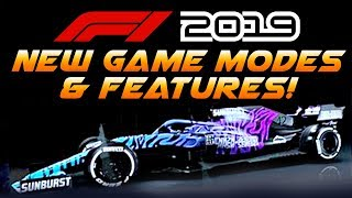 F1 2019 Game: NEW CUSTOMISATION! NEW GAME MODES! & THEATRE MODE!