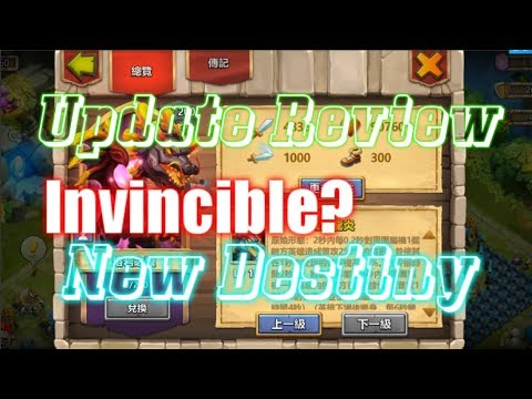 New Update Review, New Dragon, New Destiny, New Feature - Castle Clash