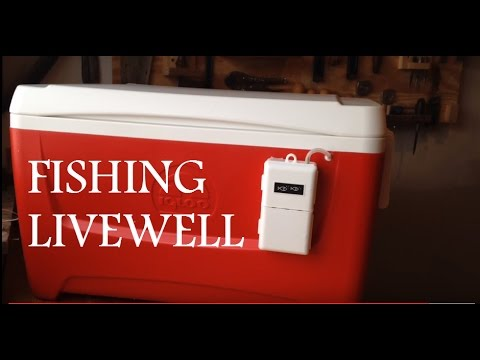 How To Make A Livewell From A Cooler For Less Than $30