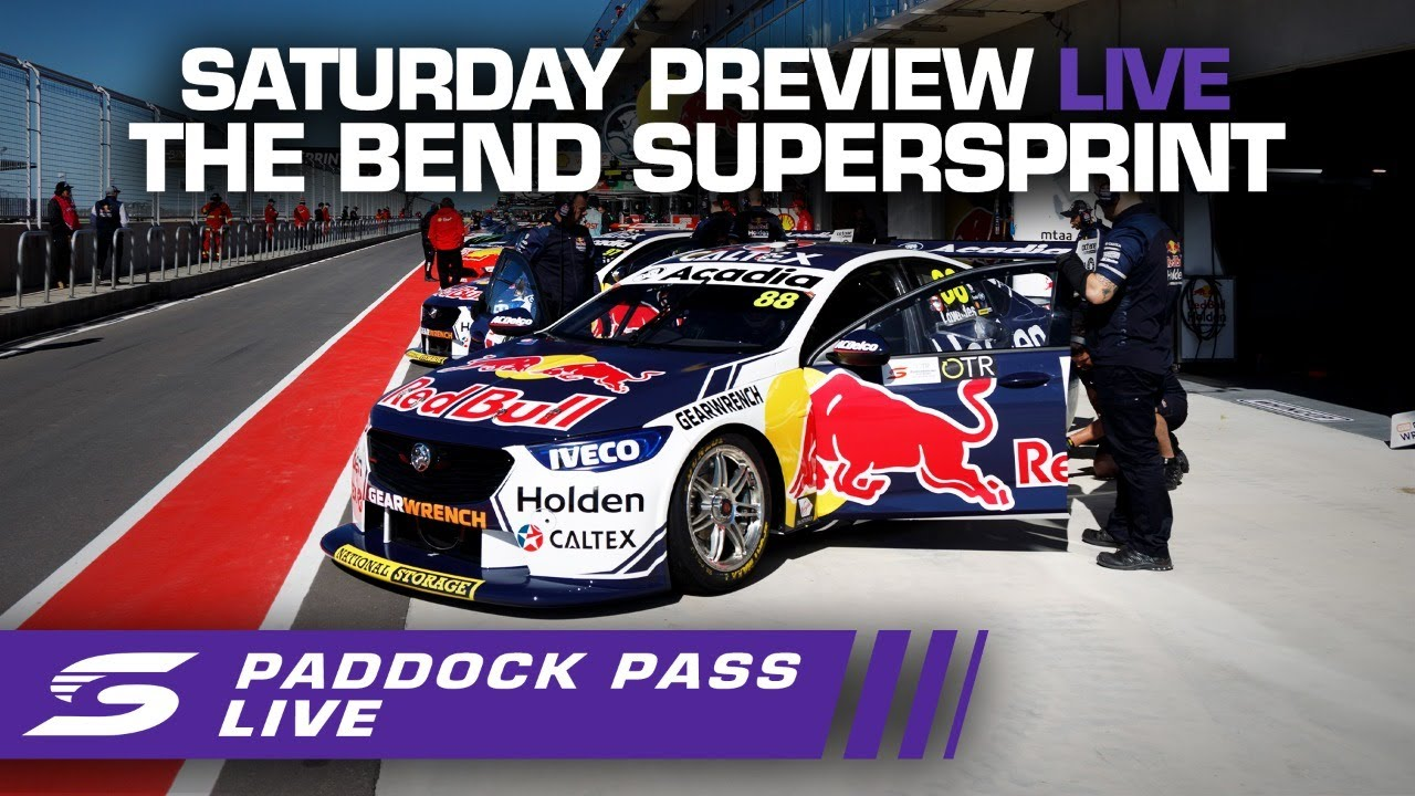 Saturday Repco Paddock Pass PREVIEW LIVE - The Bend SuperSprint | Supercars 2020