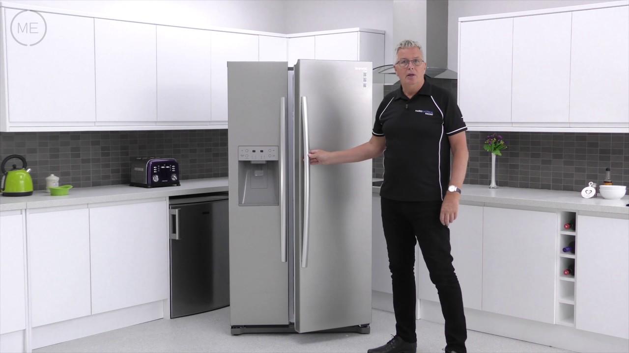 Daewoo DRQ29DES American Fridge Freezer Review - YouTube