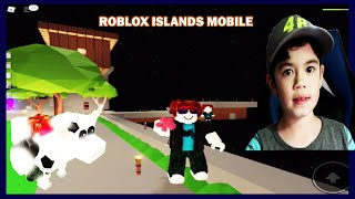 ROBLOX ISLANDS NEW COW UPDATE ( MOBILE )