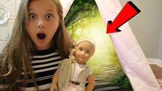 WHAT's INSIDE GIANT Our Generation Dolls Teepee Tent For KidsOur Generation Doll Haul