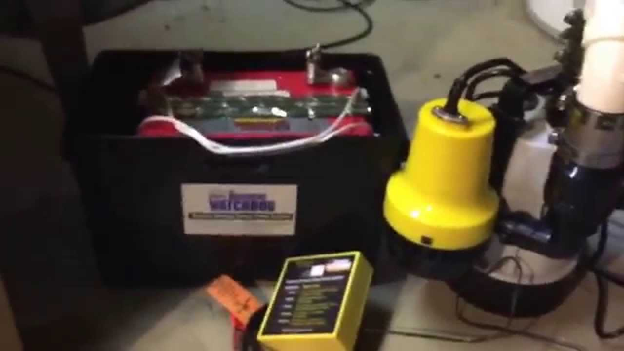the basement watchdog combo sump pump with battery back up youtube rh youtube com basement watchdog sump pump lowes basement watchdog sump pump system