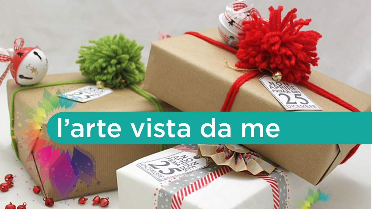 Come Confezionare I Regali Di Natale.Come Impacchettare I Regali Di Natale Packaging Tutorial Wrapping Tutorial