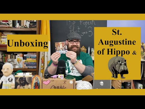 Catholic T-Shirt Club Unboxing: St. Augustine of Hippo