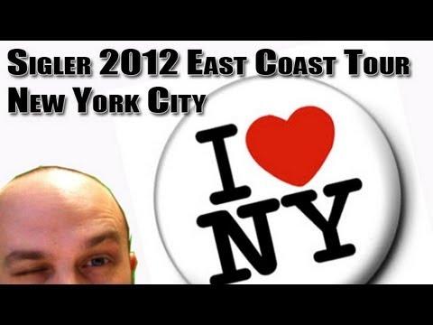 Sigler East Coast Tour - NYC (sponsored by GoDaddy.com promo code 599scott)