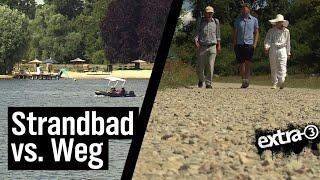 Realer Irrsinn: Verlegung des Strandbads Babelsberg | extra 3 | NDR