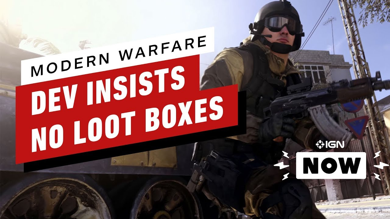 Call of Duty Dev insiste en que no habrá cajas de botín en Modern Warfare - IGN Now + vídeo
