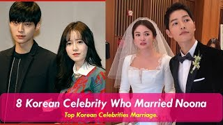 Gambar cover 8 Korean Celebrities Who Married Noona In Real Life